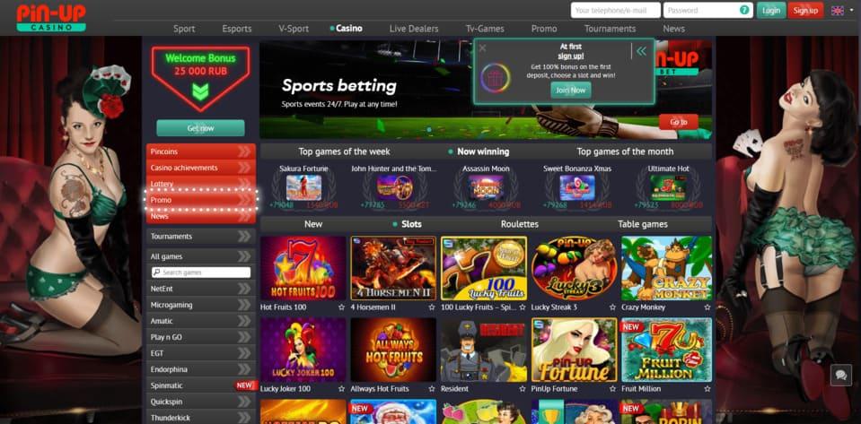 pin up casino en